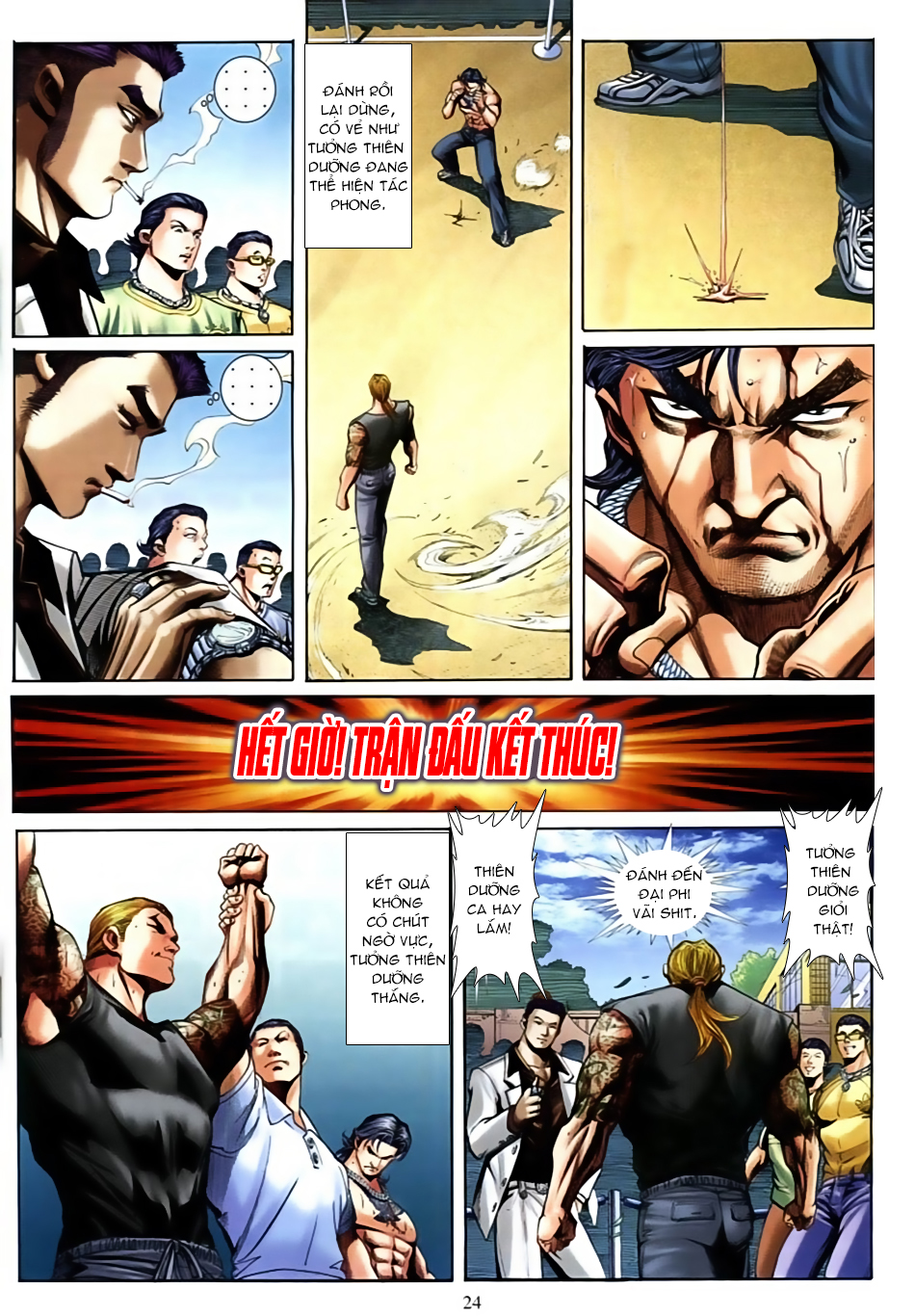 Người Trong Giang Hồ Chap 596 - Truyen.Chap.VN