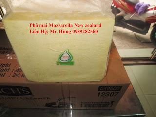 Phô mai Mozzarella  New zealand