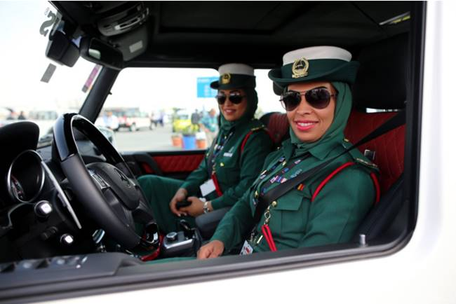 The most beautiful police girls from UAE