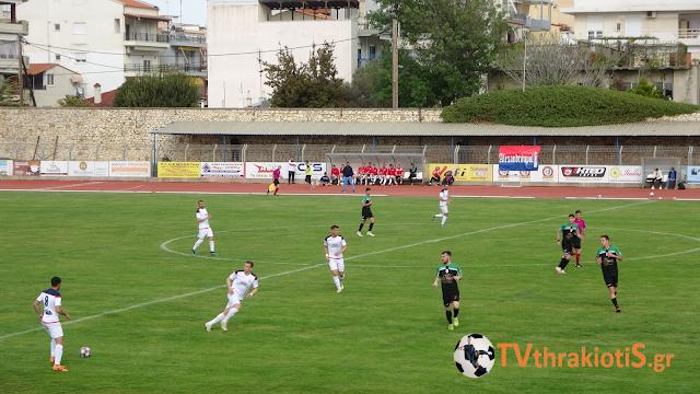 Η Αλεξανδρούπολη FC  επικράτησε με 3-1 της ΑΕ Διδυμοτείχου στο «Εβρίτικο Ντέρμπι» Γ εθνική 1ος όμιλος(ΒΙΝΤΕΟ)