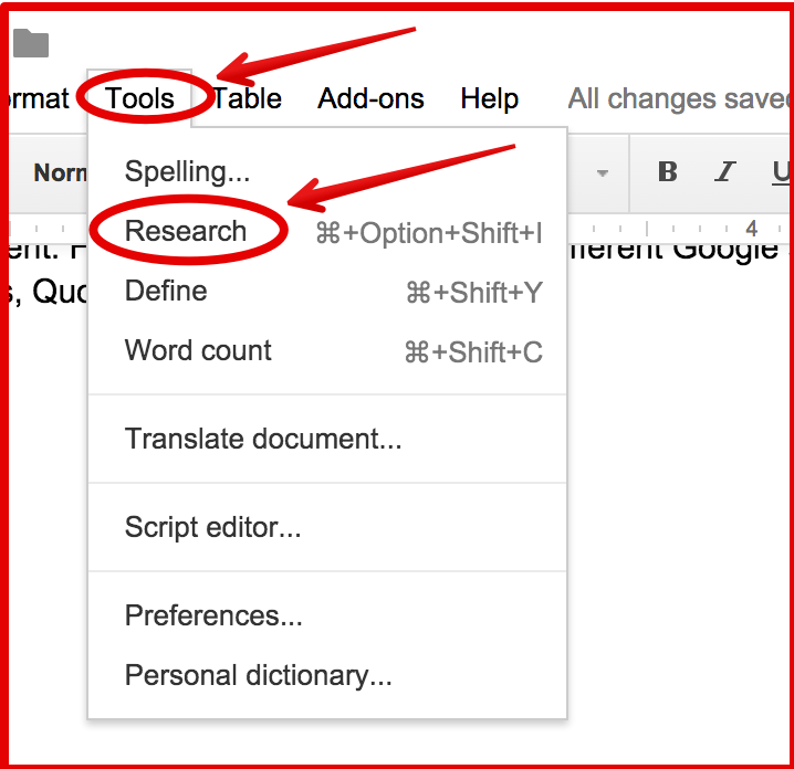 4 Important Google Docs' Features for Student Researchers
