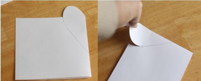 el yapımı kalp nasıl yapılır