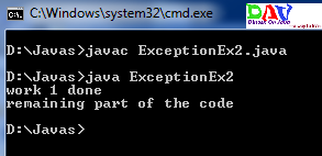 Multiple Exceptions In Java  New Concept