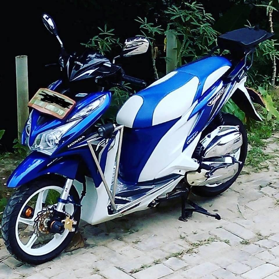 30 Gambar Foto Modifikasi Vario Honda Matic