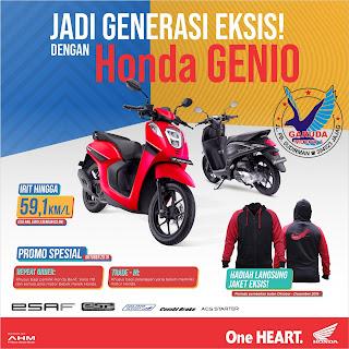 Promo Sepeda Motor Honda Genio Banyuwangi