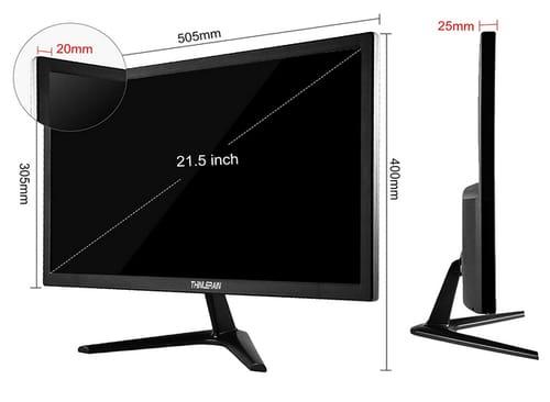 Thinlerain 24 Inch 1080p 2ms 165 Hz Gaming Monitor