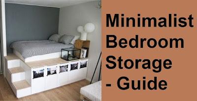 minimalist bedroom storage guide