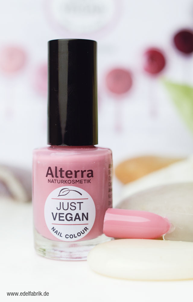 Alterra Nagellack Limited Edition Just Vegan Swatch Vegan Vintage