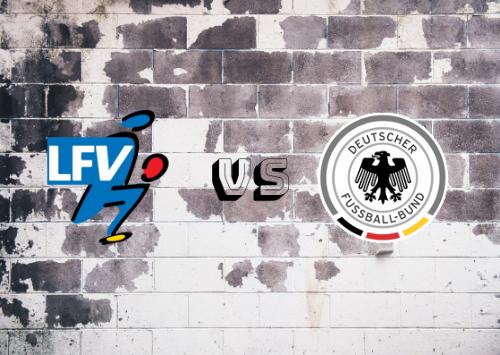 Liechtenstein vs Alemania  Resumen y Partido Completo