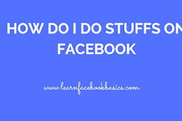 Four things you can do with your Facebook account