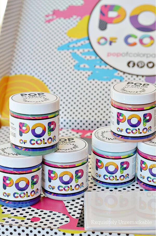 Pop Of Color Paint Samples
