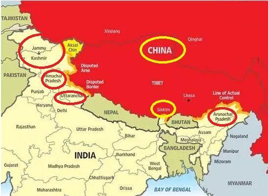 china india news today