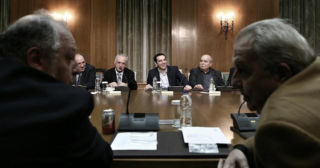 Το βαθμολόγιο Τσίπρα για υπουργούς