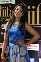 Madhu Shalini Looks Super Cute Slim trim Blue Choli Ghagra IIFA Utsavam Awards 044.JPG