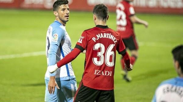 Málaga, Vivian se interesó por Pablo Chavarría y lo llamó tras conocer su lesión