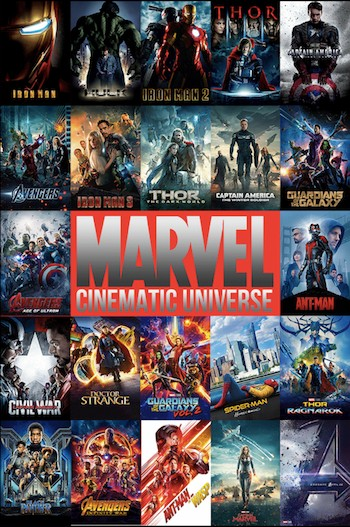 Marvel Cinematic Universe (2008-2019) All Movies Dual Audio Hindi Full Movie Download