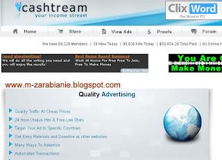 Cashtream - PTC -  strona zakończyła działalność