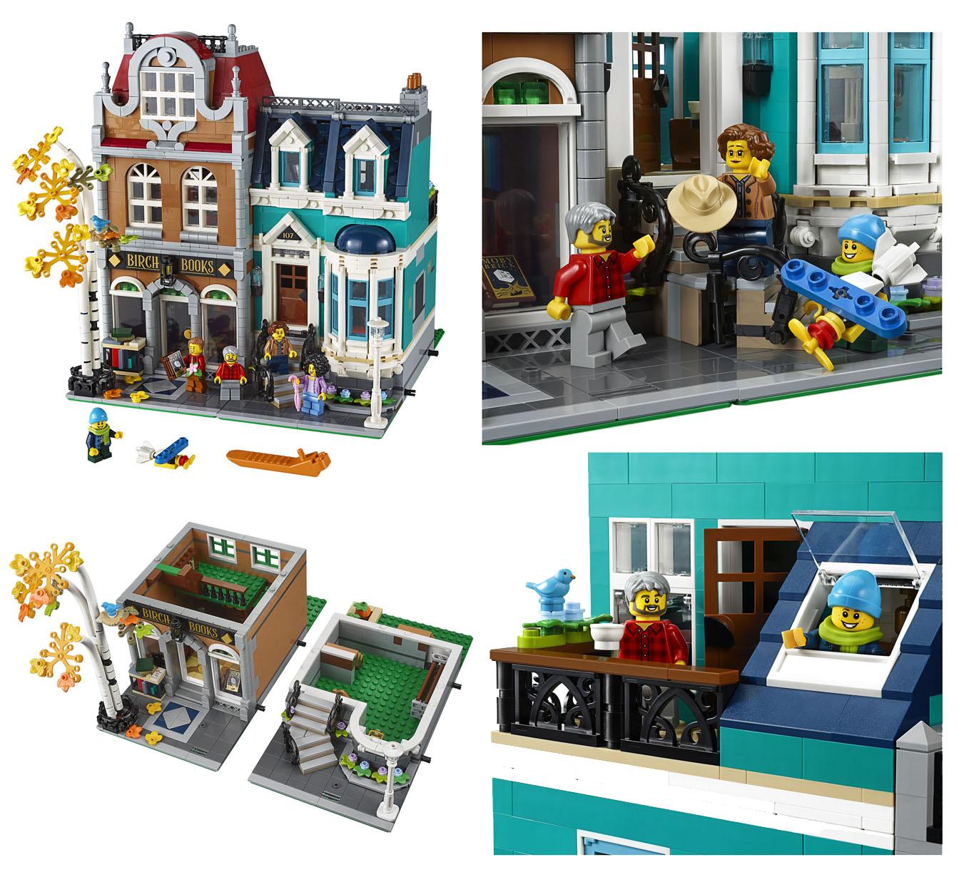 10270 街の本屋:レゴ(LEGO) クリエイター・エキスパート