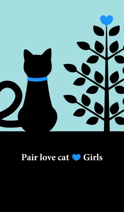 Pair love cat Boys