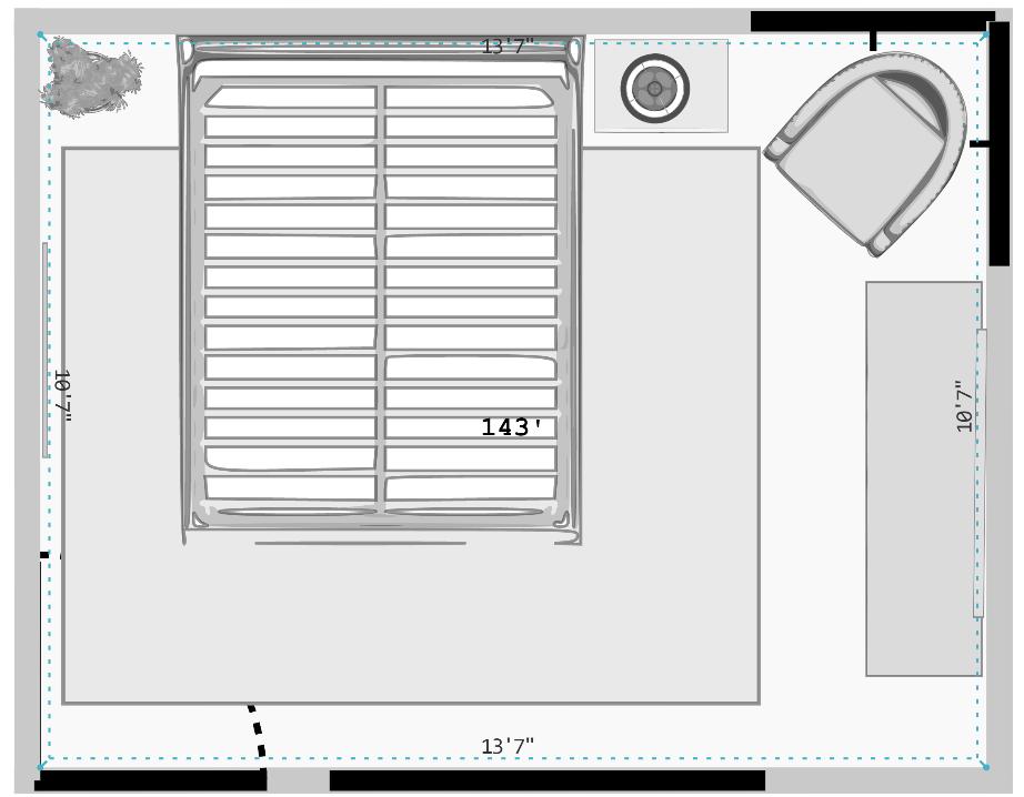 CAD Interiors professional online interior e-design floor plan furniture layout rendering