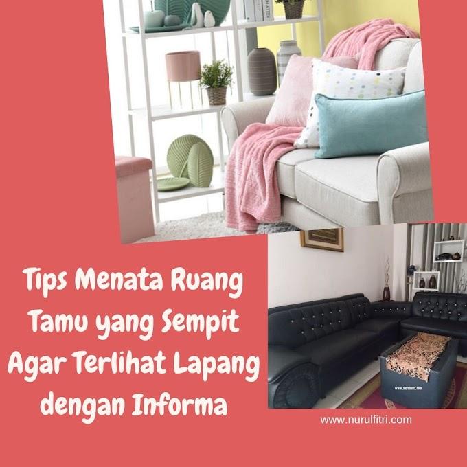 Tips Menata Ruang Tamu yang Sempit