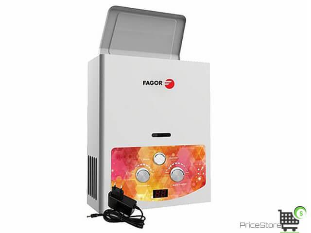 سخان غاز فاجور 6 لتر ديجيتال FMH 6PGW