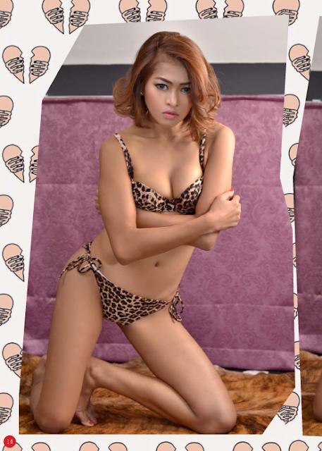 Model Kimby di Majalah Max Edisi Januari 2016