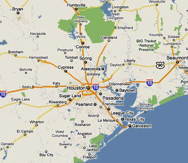 Map Of Texas League City.Map Of League City Texas Business Ideas 2013