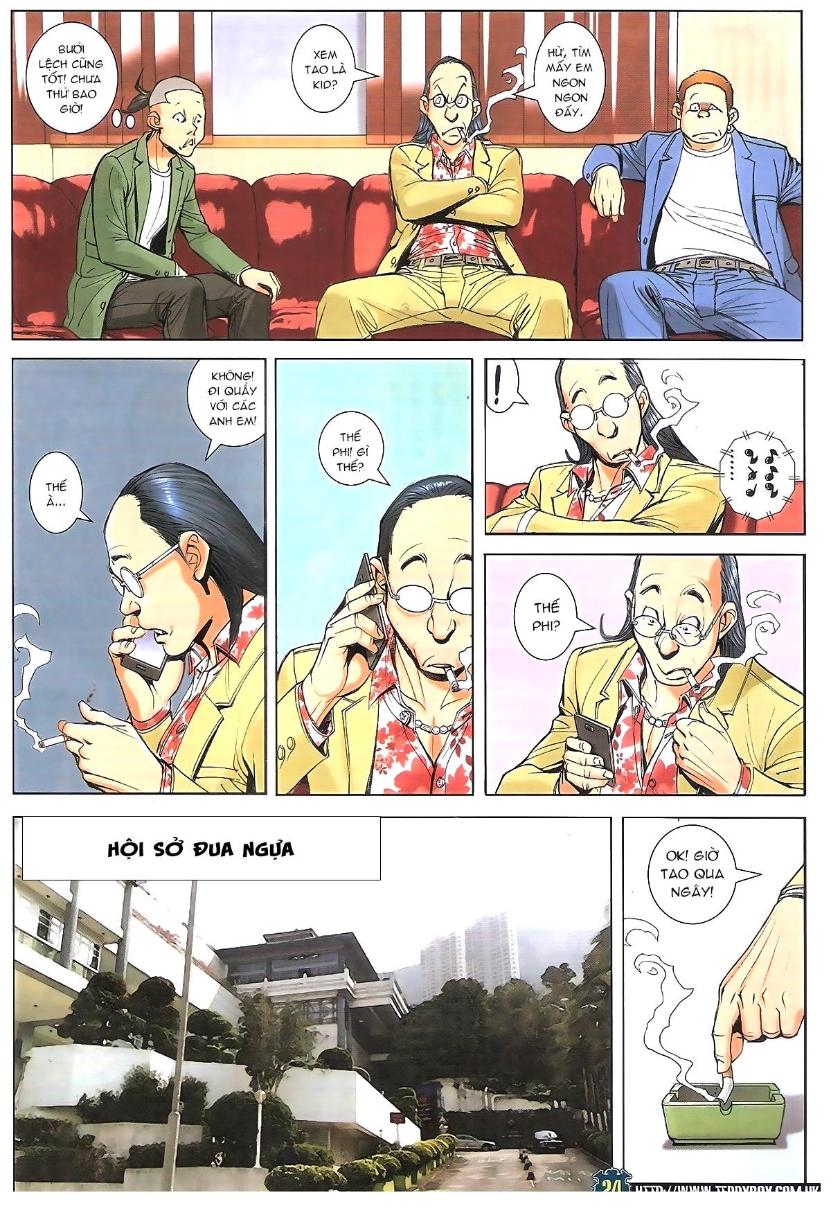 Người Trong Giang Hồ chapter 1770: tên x hồng hưng trang 20