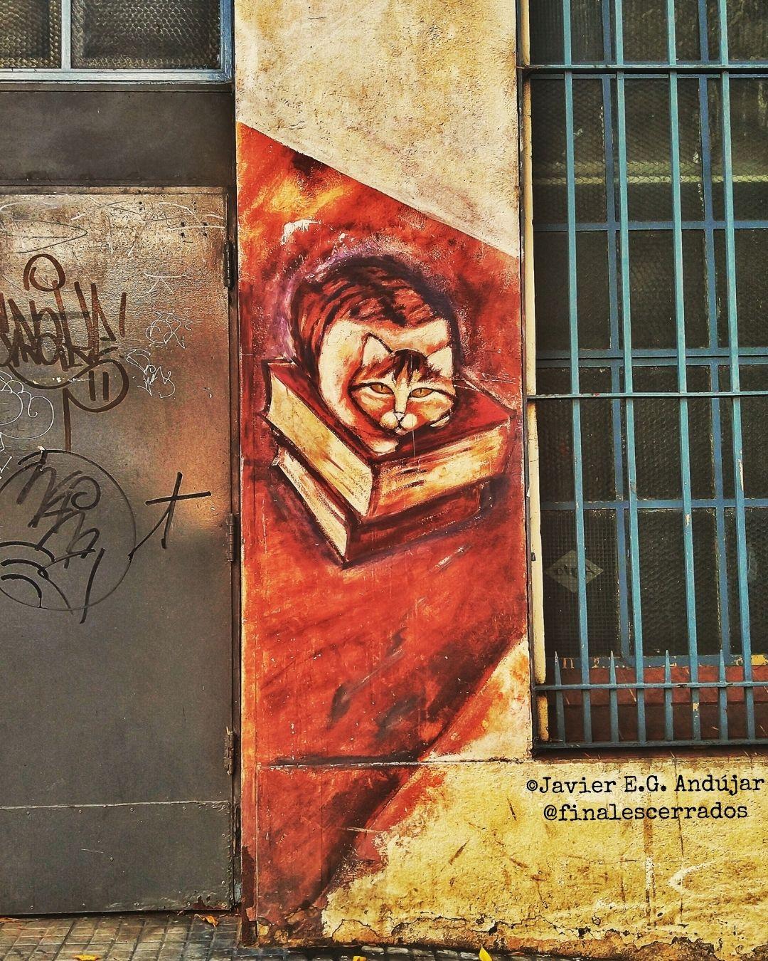Grafiti en Almagro, Ciudad de Buenos Aires.