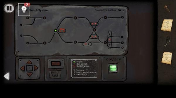 панель на стене включаем в игре выход из заброшенной шахты