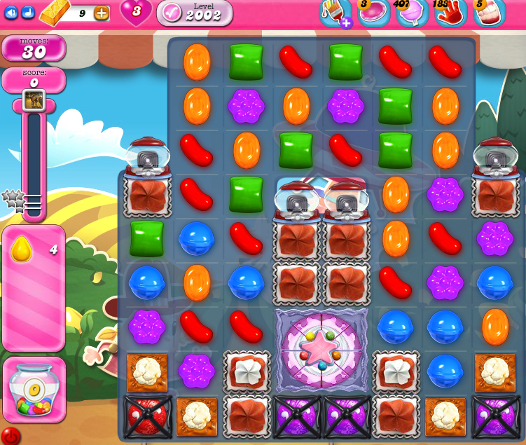 Candy Crush Saga 2002
