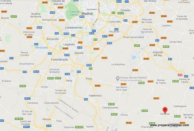 cómo llegar a Chinchón desde Madrid
