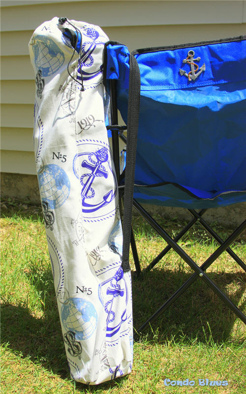 how to make a replacement folding camp chair bag