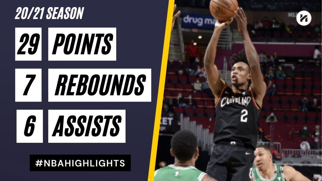 Collin Sexton 29pts 7reb 6ast vs BOS | March 17, 2021 | 2020-21 NBA Season