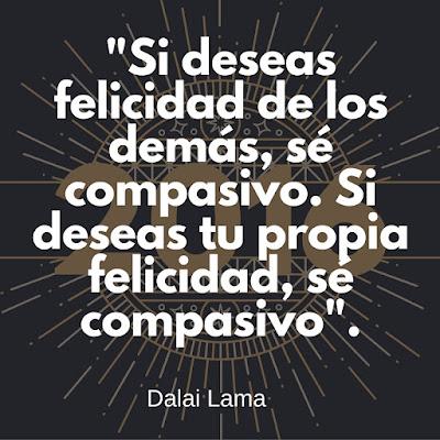 Felicidad y compasion