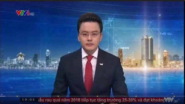 """BTV Hữu Bằng quen thuộc với khán giả khi dẫn bản tin """"Thời sự 19h"""""""