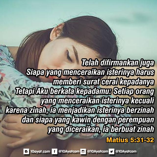 Matius 5: 31-32