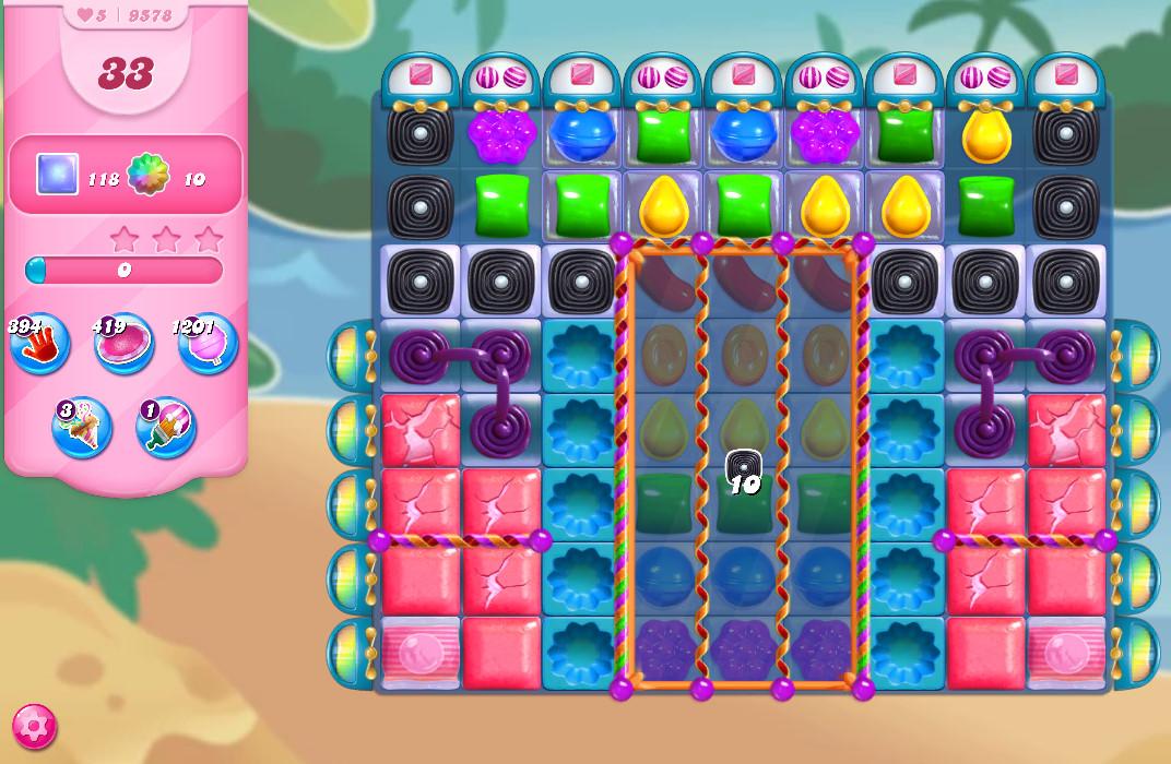 Candy Crush Saga level 9578