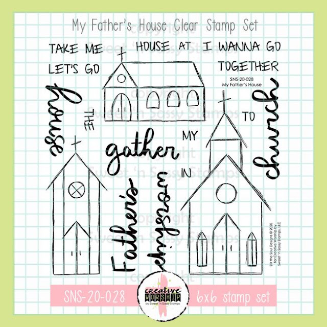 My Father's House Clear Stamp Set