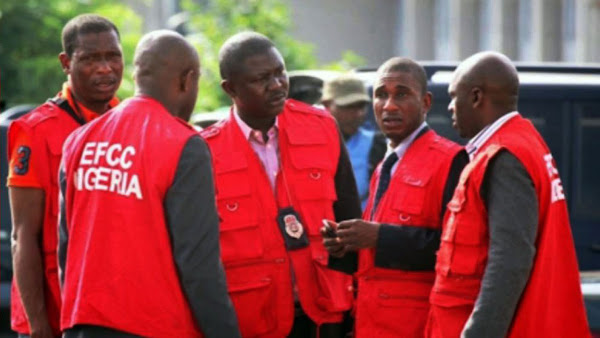 In Lagos, the EFCC arrests a father and his son for alleged Internet fraud.