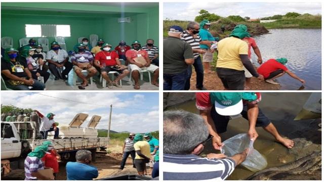 Parceria entre Prefeitura, Governo da Paraíba e Senar garante curso de piscicultura para produtores de São José do Bonfim