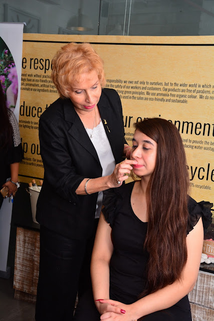 Blossom Kochhar Aroma Magic launches a Green Salon in the Delhi / NCR Region