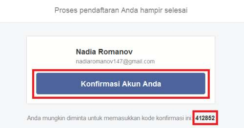 klik tombol konfirmasi pendaftaran di dalam gmail