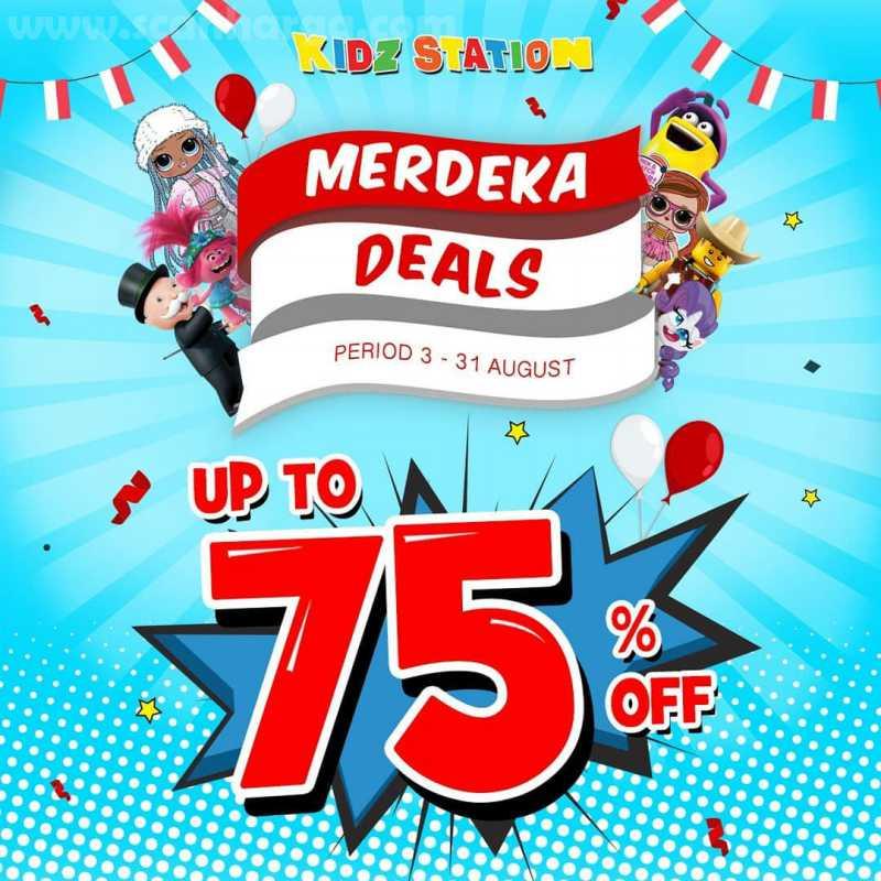Promo Kidz Station Merdeka Deals