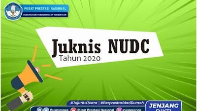 Surat Edaran dan Juknis Pelaksanaan NUDC Tingkat Nasional Tahun 2020