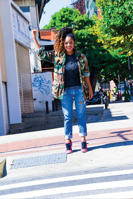 denim, camuflaje, sneakers, moda, fashion, oodt, outfit, sporty chic, look, stephtopia