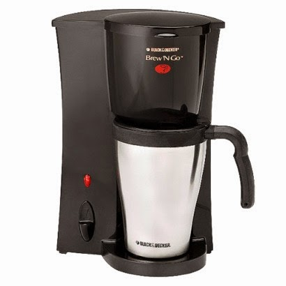 Black & Decker Brew Personal Coffee Maker with Travel Cup