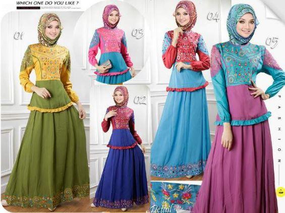 45+ Trend Model Baju Muslim Desain Terbaik 2018