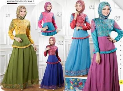foto baju batik trend terbaru